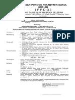 SK Guru Tetap Yayasan Madrasah Format Doc