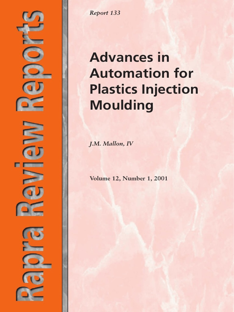 Advance In Automation For Plastic Injection Molding pdf