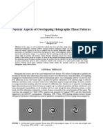 Nuclear Aspects of Overlapping Holographic Phase Patterns