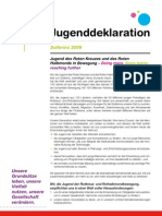 Solferino Youth Declaration (IFRC) - German