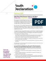 Solferino Youth Declaration (IFRC) - English
