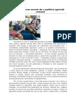 Cercetari Cu Privire La Politica Agrara Comunitara 2014-2020