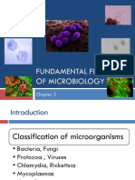 Fundamental Features of Microbiology