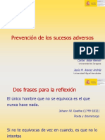 Prevencion de sucesos adversos
