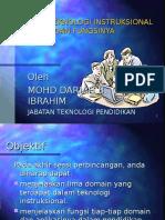 Domain Taknologi Pengajaran (Lanjutan)