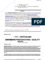 771 Ophthalmic Preparations