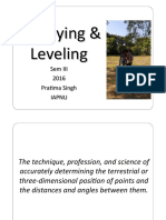 Surveying and Levelling III