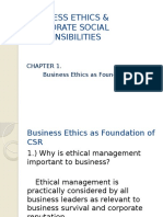 Ethics-chap1- as Foundation of CSR.pptx