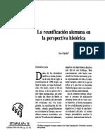 La reunificación alemana en la perspectiva histórica.pdf