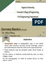 6- Topographic Survey