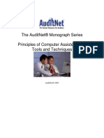 AuditNet Monograph Series Principles of Computer Assisted Audit Techniques 2009