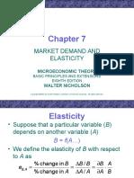 Elasticity Ecn5402.Ch07