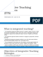 Integrative Teaching Strategies