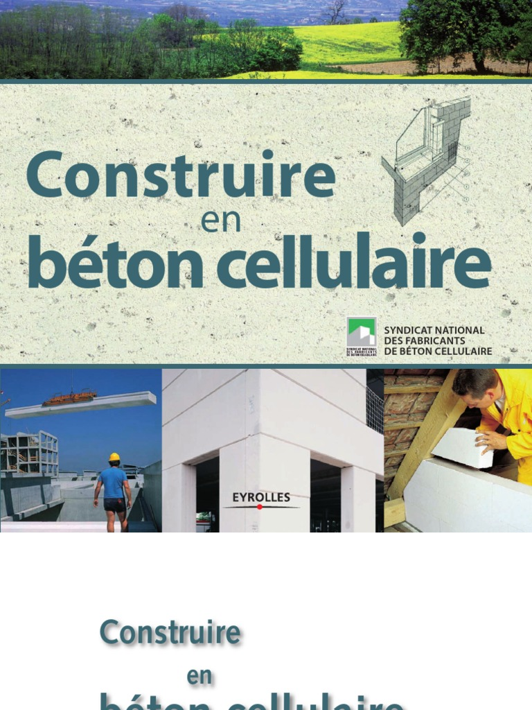 Construire en b ton cellulaire for Construire online
