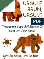 Ursule Brun  -   Eric Carle
