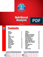 Nutritional Analysis 2015 Regular