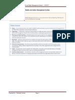 IGC1, Element 2, Policy