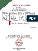 Computational Linguistics - Resumen