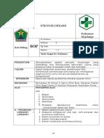 Format SOP Strongilodiasis - Revisi