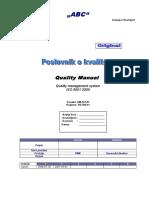 2 - 2 - QM42201I2R0 - Poslovnik o Kvalitetu