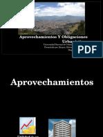 Aprovechamientos y Obligaciones Urbanísticas FINAL