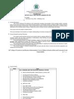 Syllabus_Monetary Policy and Central Banking