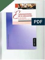 Zoppi Ana María - El Plantamiento de La Educación en Los Procesos Constructivos Del Curriculum
