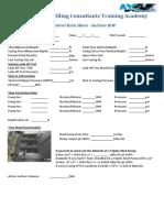 Surface ADC Kick Sheet Blank
