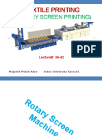 Lecture 39 -42 Rotary Screen