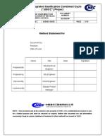Metallic Raceways & Boxes Method Statement