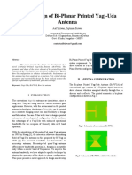 Novel Design of Bi-Planar Printed Yagi-Uda Antenna-Asifrizwan