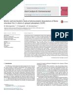 Applied Catalysis B- Environmental Volume 192 Issue 2016 [Doi 10.1016_j.apcatb.2016.03.039] Antonopoulou, M.; Karagianni, P.; Konstantinou