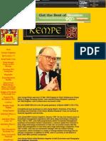 152. Sir John Kemp-Welch Biography