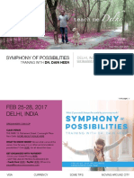 All about Delhi & All about Symphony of Possibilities Class in Delhi