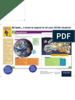 GCSE Geog OCR B Poster