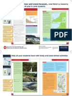 AQA Geography for A Level poster