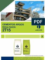 Cementos Argos Presentacion_2T15