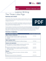True Story of Three Little Pigs_Persuasive Lesson