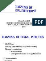 Diagnosis of Fungal