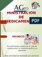Ministracion de Medicamentos