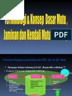 Terminologi Konsep Mutu Qa Qc (1)