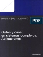 Orden y Caos en Sistemas Complejos