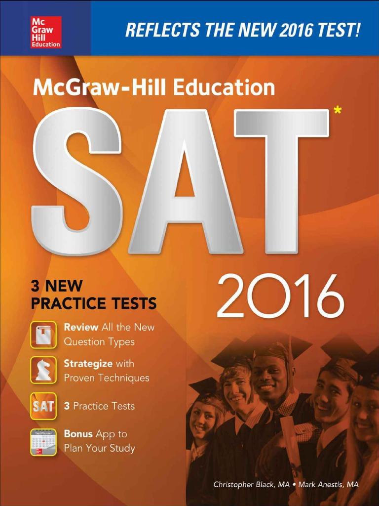 McGraw HillEducationSAT2016 ChristopherBlack Sat Act Test