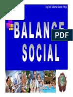 Balance Social Diapositivas