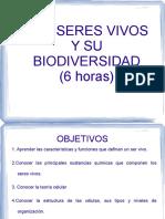 seres vivos y biodiversidad