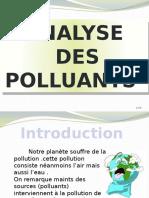 ANALYSE DES POLLUANTS