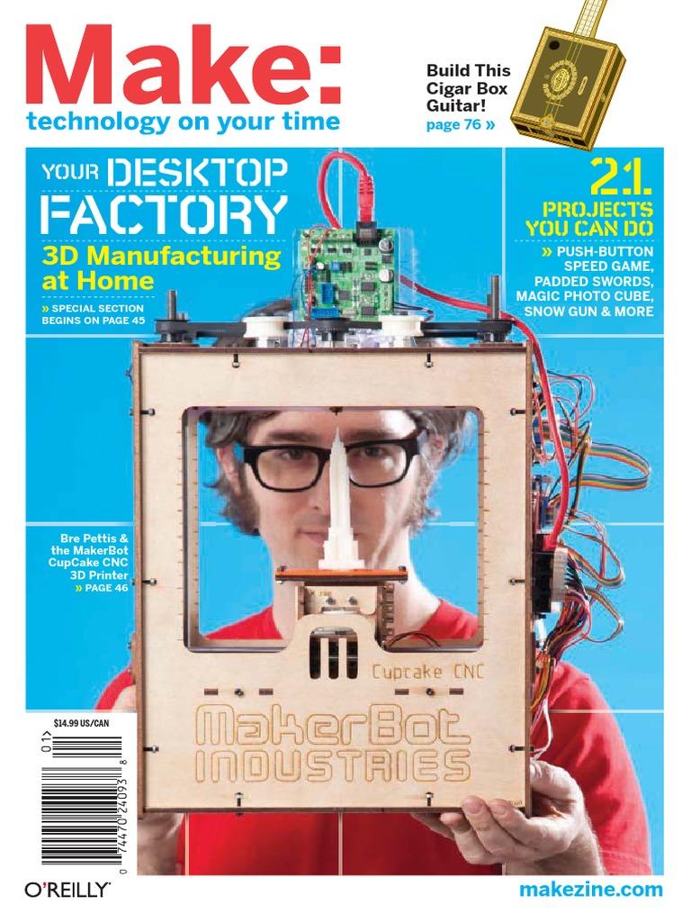 Make Magazine Volume 21pdf Computer Aided Design Technology Fan Speed Controller The Hobbymachinist Friendly Machinist