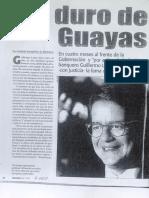 Lasso, el duro del Guayas