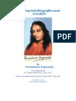 autobiografia unui yoghin