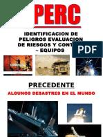 EXP. IPERC Taller Seguridad - Equipos Pesados